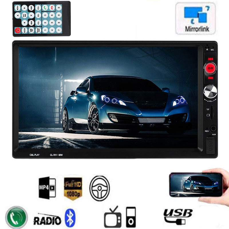 MP5 Player Support Rear View Camera Steering Wheel Control