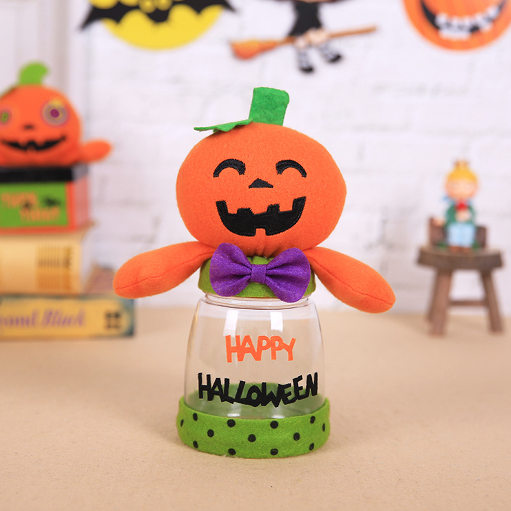 novelty halloween candy jar transparent plastic fashion halloween