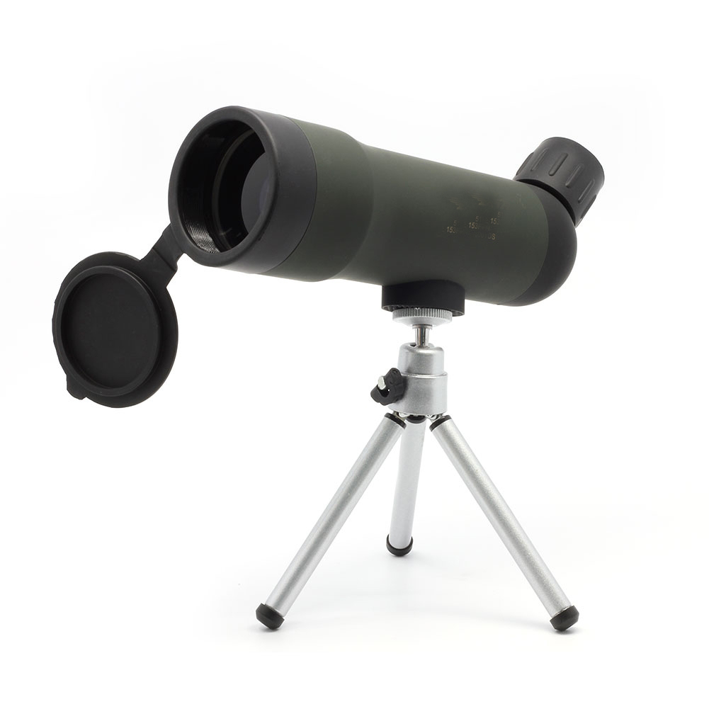 Top Astronomical Scope 20X50 Roof Glass Monocular Telescopes with Tripod