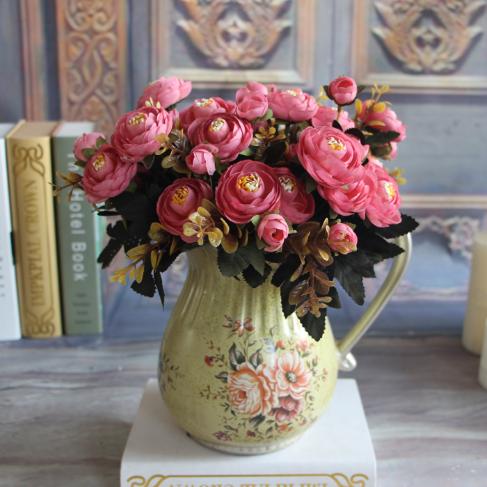 3868-Hot-Realistic-Autumn-Artificial-Fake-Peony-Flower-Hotel-Wedding-Decor