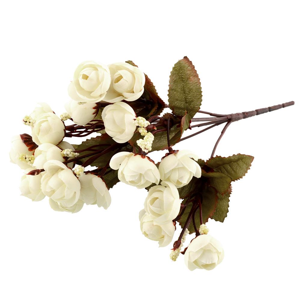 48BB-Artificial-Rose-Flowers-18-Flower-Heads-Camellia-Magnolia-Peony-Room-Decor