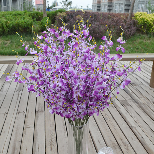 9AC2-colorful-dancing-orchid-Party-Wedding-Room-Artificial-flower-decoration