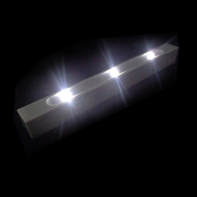 battery operated led strip light pir motion sensor under bed wardrobe cabinet au ebay. Black Bedroom Furniture Sets. Home Design Ideas