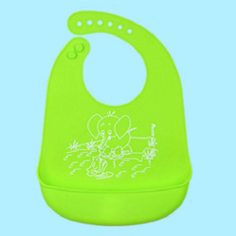 D7B1-Baby-Kids-Silicone-Stereo-Bib-Adjustable-Waterproof-Bibs-Pick-Rice-Pocket