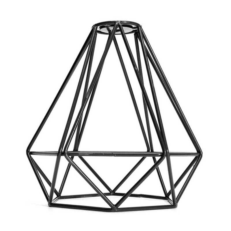 8F99-Night-Light-Industrial-Geometry-Cage-Wire-Shades-Pendant-Light-Living-Room