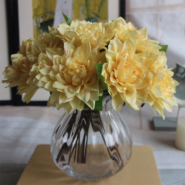 80D6-Simulation-DIY-Dahlia-Bouquet-Artificial-Silk-Flowers-Wedding-Home-Decor