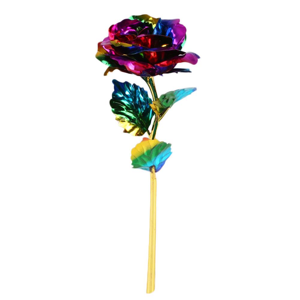 Romantic-24K-Gilded-Golden-Rose-Wedding-Festive-Party-Decoration-Supplies-C0B7