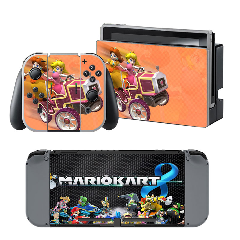 3C42-For-Nintendo-Switch-Console-Super-Mario-Sticker-Decals-Paster-Reusable