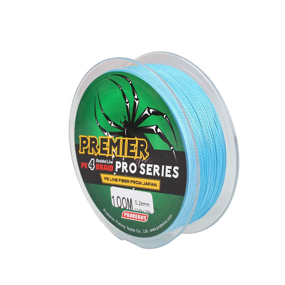 B6AF-Spiderwire-Braid-Fishing-Line-Dyneema-PE-30Lb-100m-Spool-Fishing-Tools