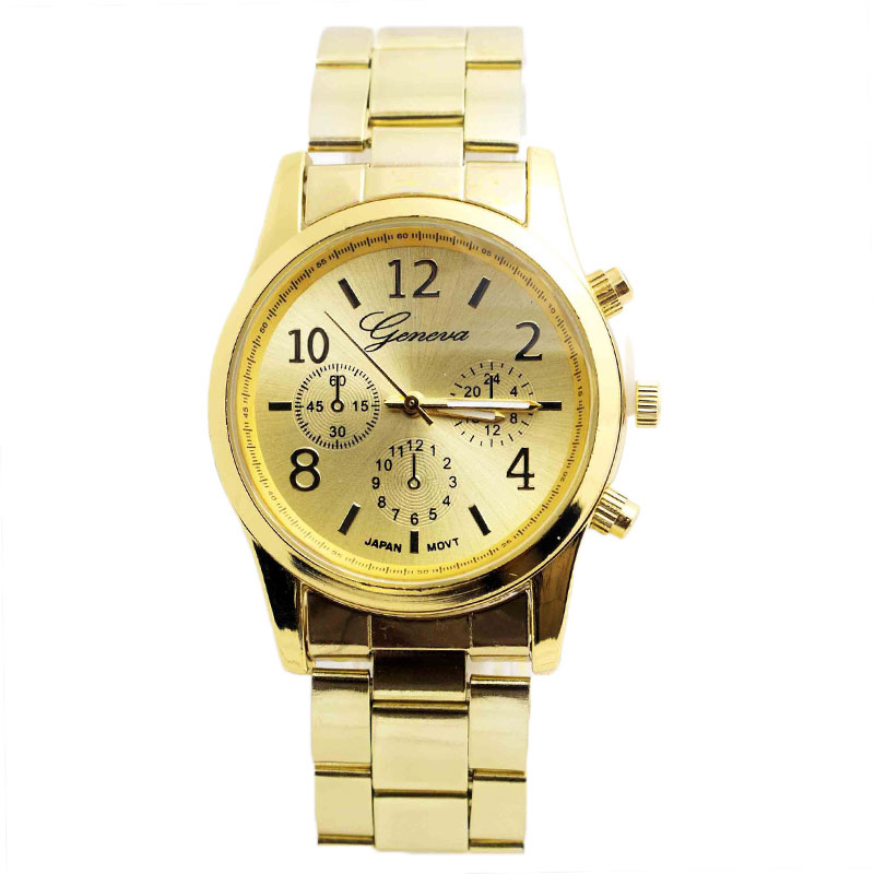 FDBF-Wrist-Watch-Women-Hand-Decoration-Gold-Chronograph-GMT-Dual-Time-Quartz