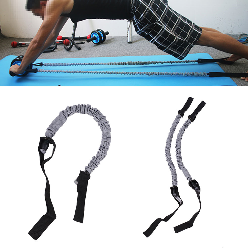 3D06 formation tirer corde Sangle Élastique Fitness Abdominal Roue Roue Roue 5101ef