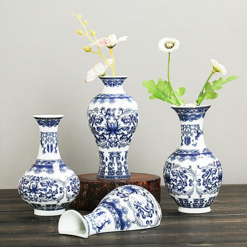 8076-Wall-Mounted-Ceramic-Flower-Vases-Antique-Porcelain-Vase-Home-Decoration