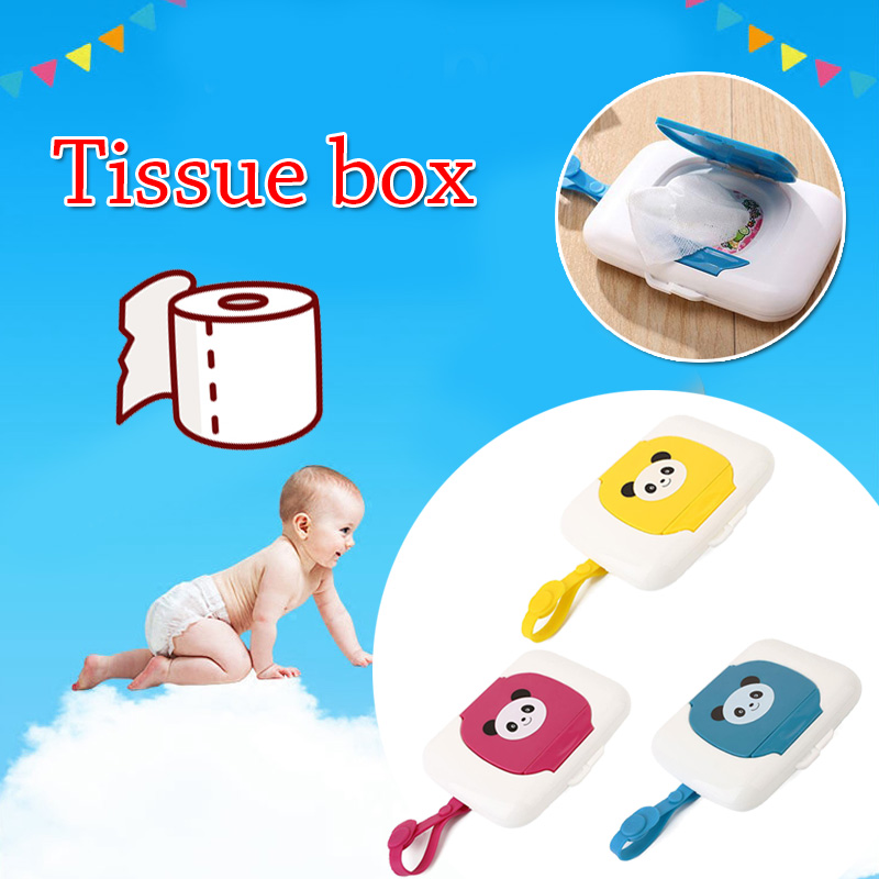 Baby Travel Wipe Case Child Wet Wipes Box Changing Dispenser Storage Holder LDUK