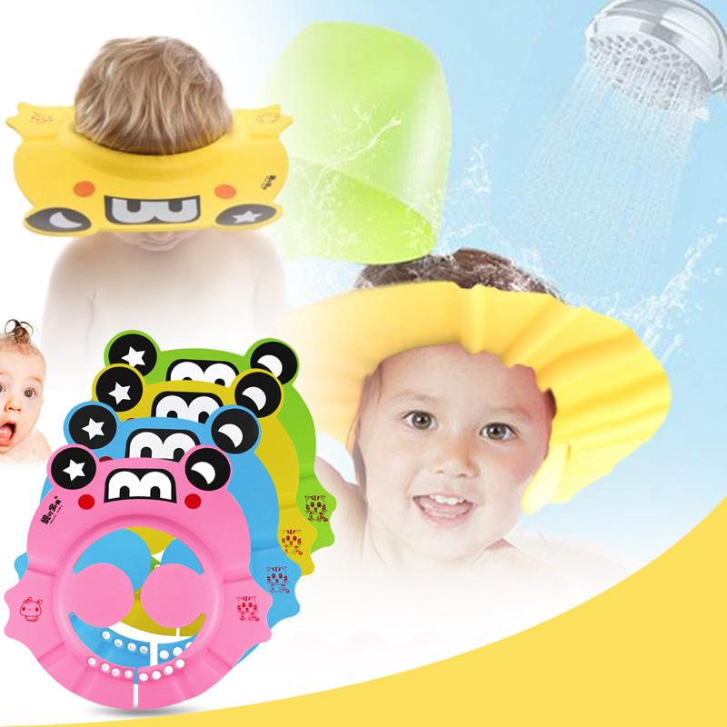 9319 Baby-Duschhaube Kleinkinder Kinderpflege  Mit Ohrenschützer