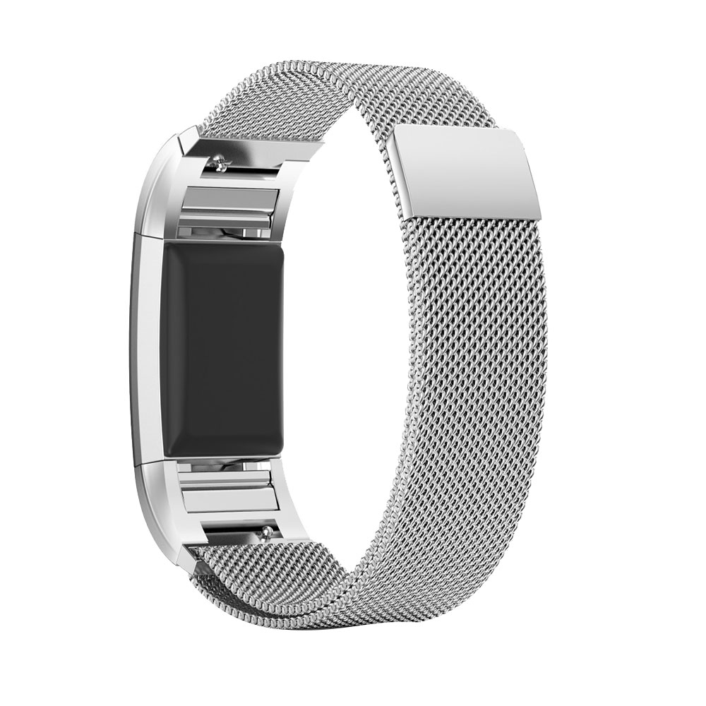 31B9-Metal-Milanese-Magnetic-Loop-Wrist-Band-Strap-For-FitBit-Charge-2-Small