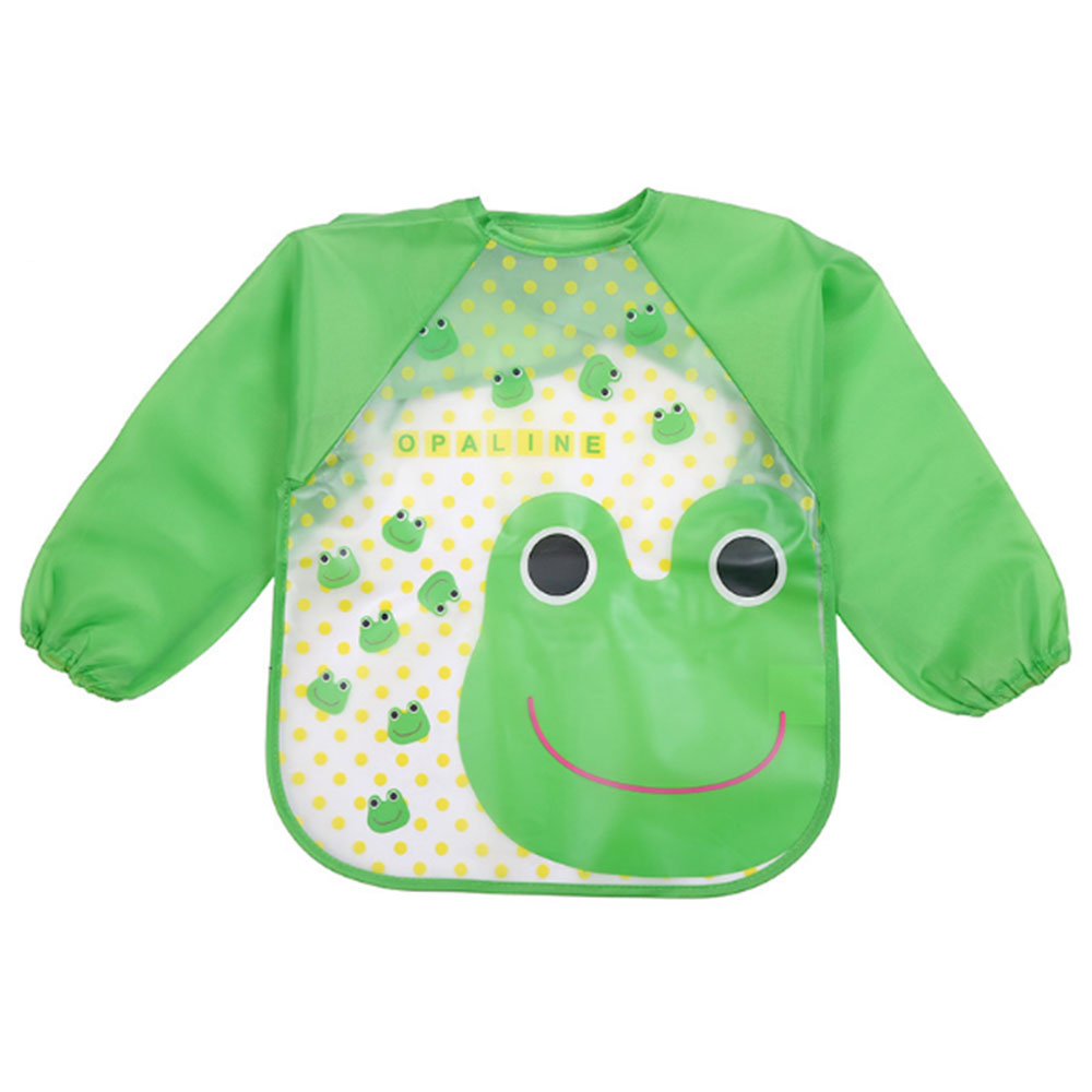 5590-Bib-Baby-Child-Long-Sleeve-Feeding-Coverall-Cow-Giraffe-Happy-Art-Cotton