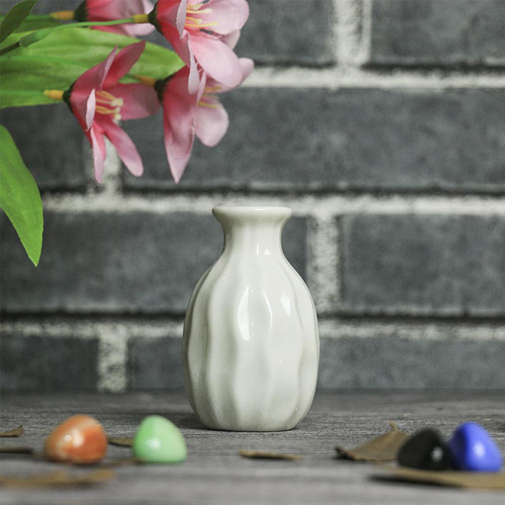 D3DC-Garden-Ceramic-Pottery-Flower-Pot-Plant-Office-Mini-Vase-Ornaments-4-Color