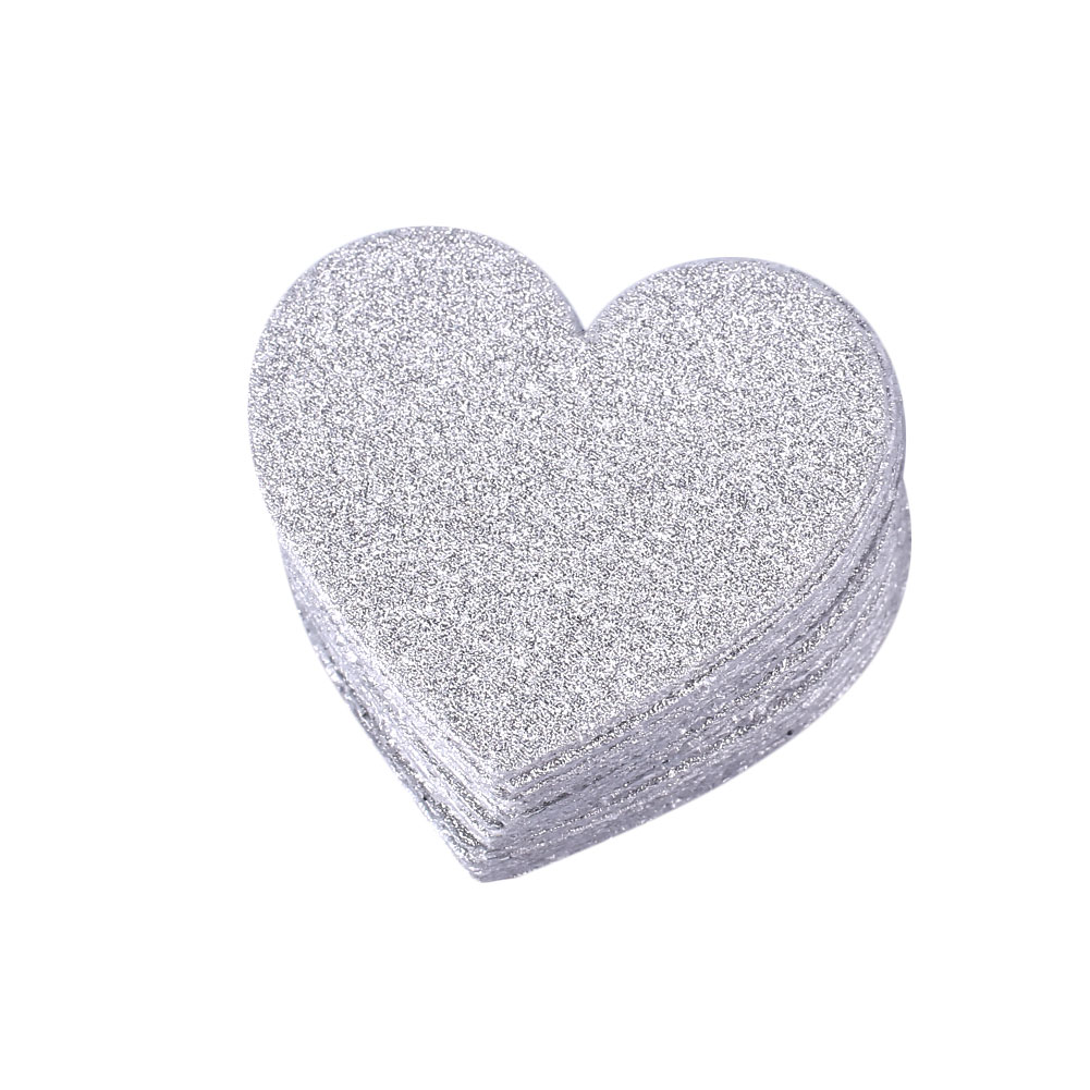 2EB0-100Pcs-Gold-Glitter-Heart-Shape-Confetti-Decor-Birthday-Hen-Party-Supply