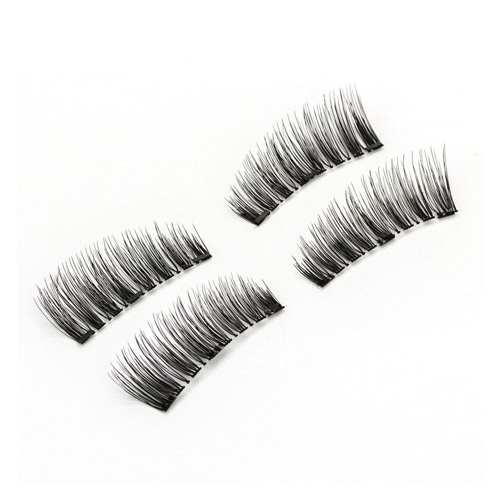 9622-4Pcs-Magnetic-Eyelashes-Handmade-Mink-Reusable-Triple-Magnetic-Eye-Lashes