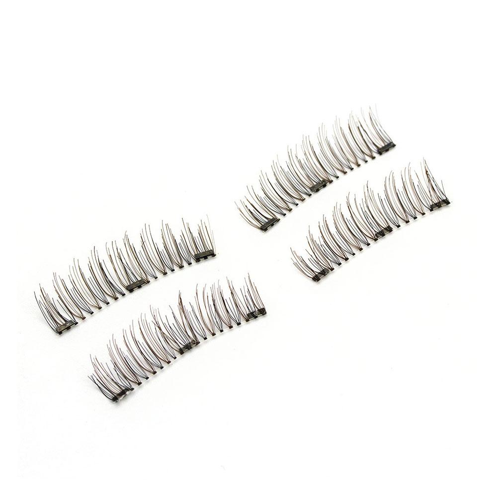 7704-4Pcs-Magnetic-Eyelashes-Mink-Reusable-Triple-Magnetic-Suction-Eye-Lashes