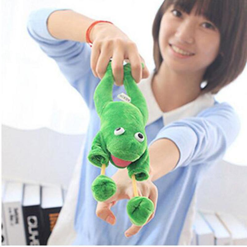 D4FD 2470 Flying Animal Screaming Slingshot Plush Toy Monkey Funny Toys Creative