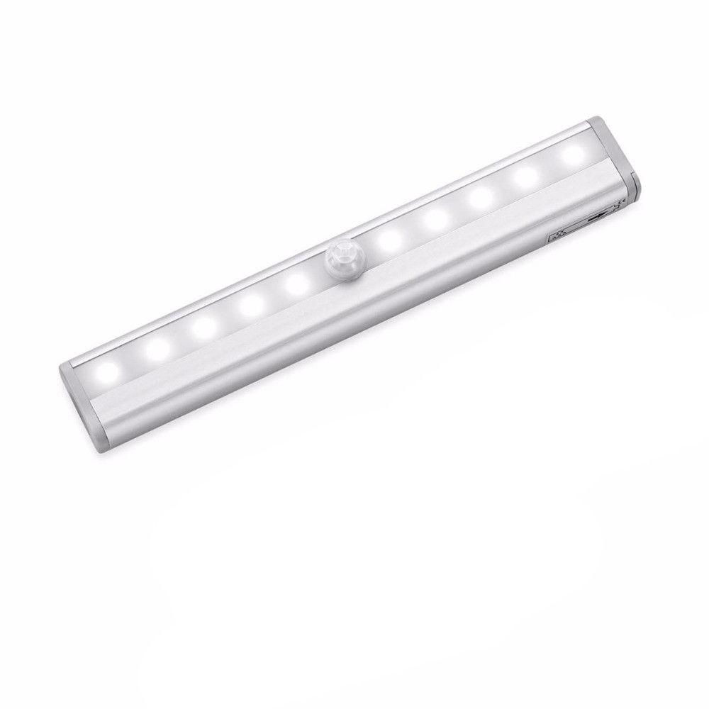 d79a 10 led schrankbeleuchtung led wandlicht bewegungsmelder mit pir sensor ebay. Black Bedroom Furniture Sets. Home Design Ideas