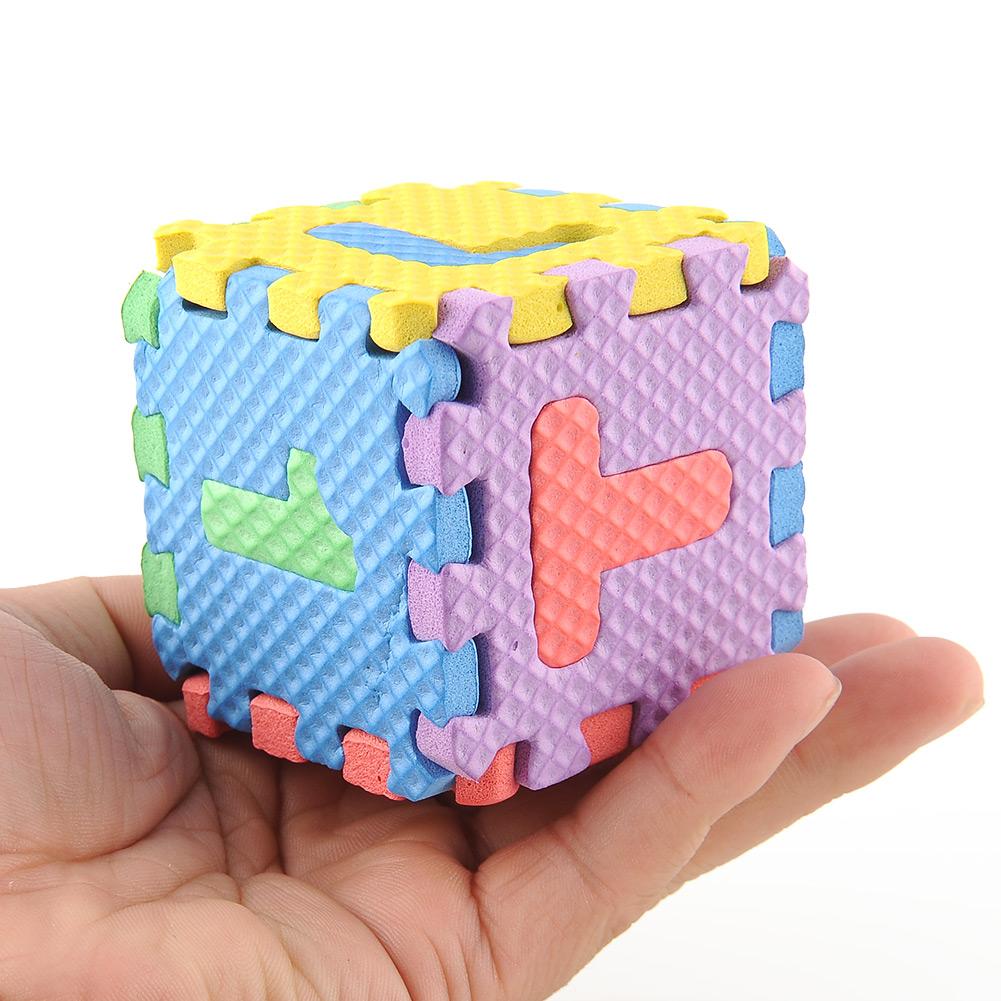 Kids Baby Mini Foam Alphabet Letters Numbers Education Mat