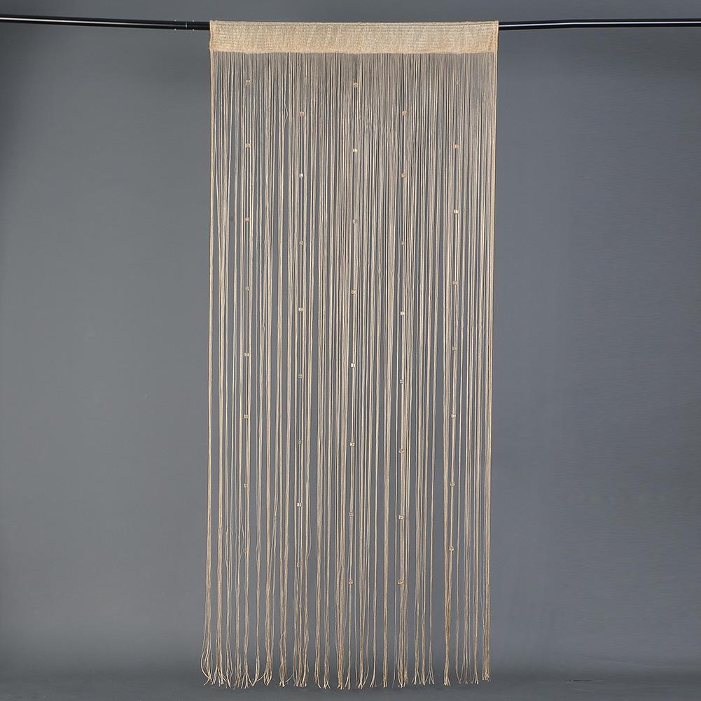 Beauty Beaded Acrylic String Door Curtain Divider Tassel Screen 3 Colors