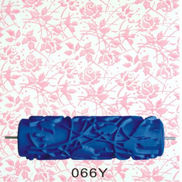 15cm Empaistic Texture Pattern Rubber Paint Roller Machine Wall