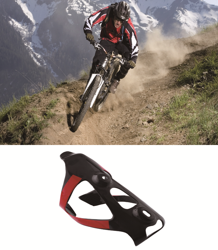 CARBON Bottle Cage Holder 100/% Pure Carbon Mountain Bike MTB Road Cycling 25g