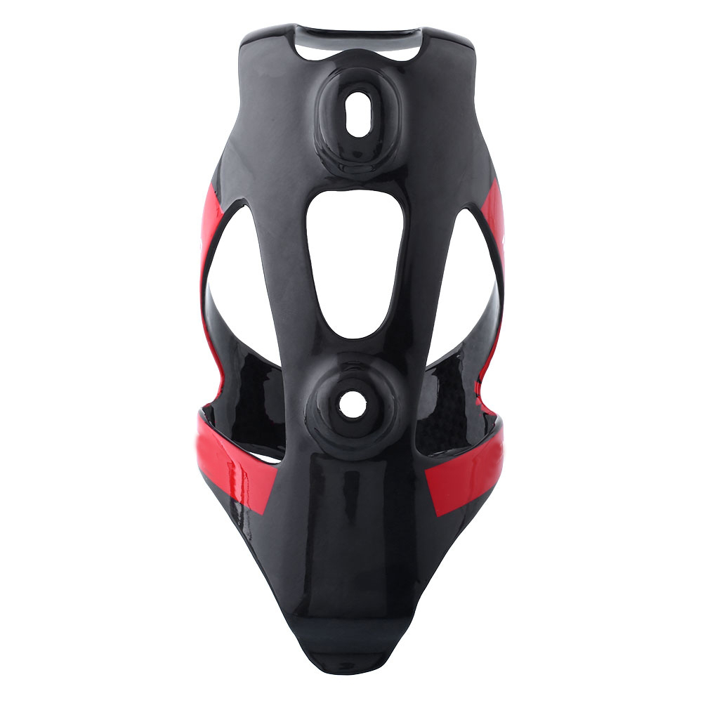 Full Carbon Bicycle Bike MTB 3T Water Bottle Cage Holder Silver//Red Sports New