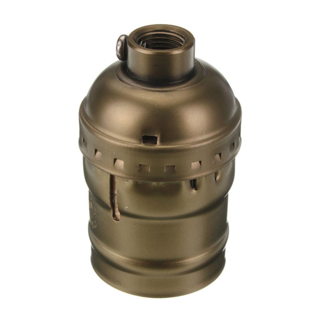 A935-E27-Edison-Vintage-Retro-Antique-Pendant-Lamp-Holder-Screw-Without-Switch