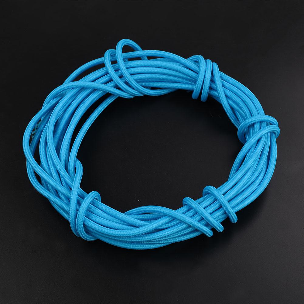 6112-2M-2-Core-Multicolor-Vintage-Twist-Braided-Fabric-Electric-Wire-Accessory