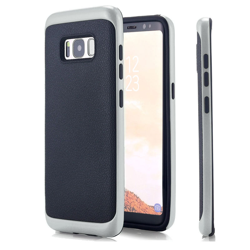 05C9-For-Samsung-S8-Phone-Case-Hybrid-Protective-Slim-TPU-Cover-Skin-PC-Frame