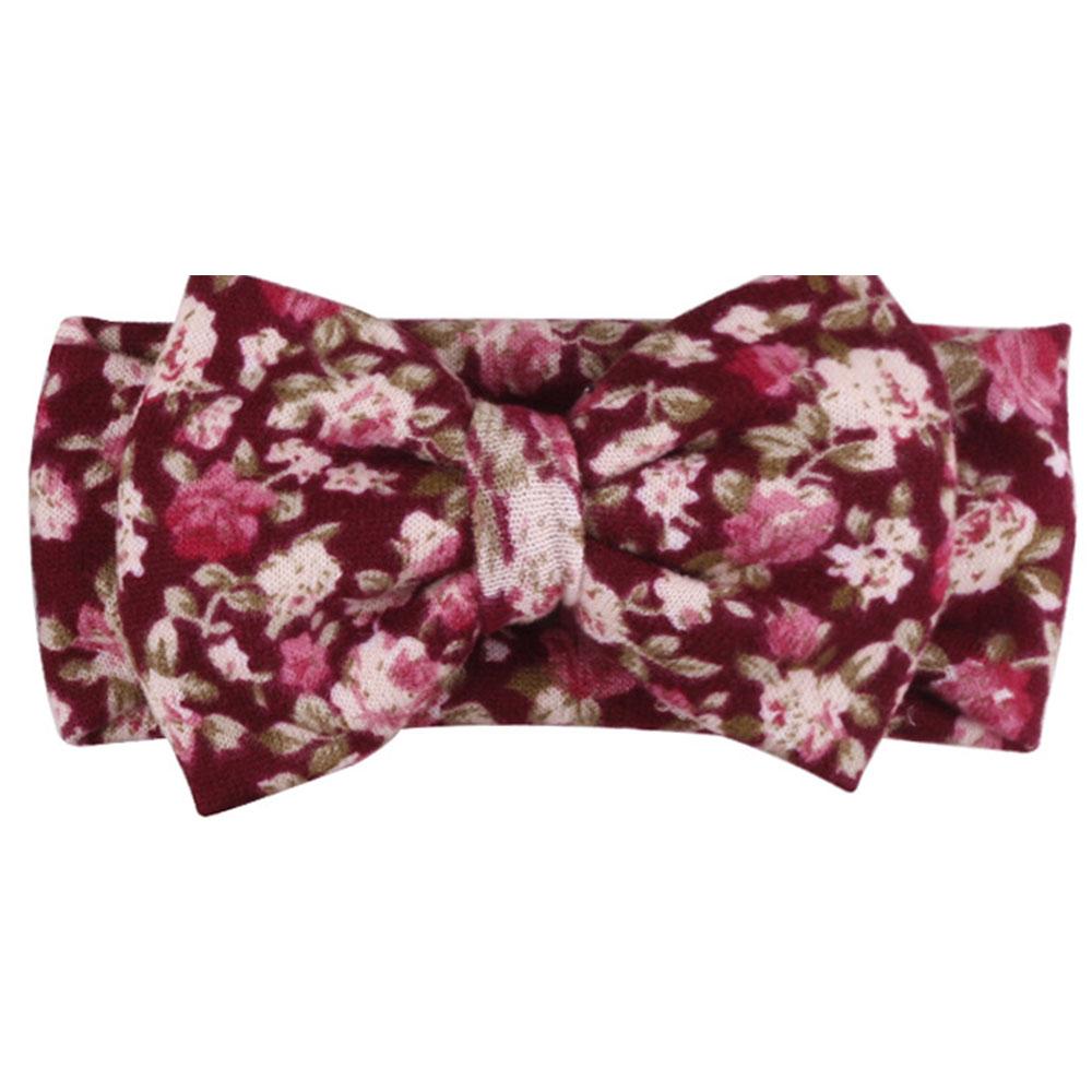 2ACB-Bohemian-Fashion-Print-Flower-Bowknot-Headband-Hair-Accessories-For-Babies