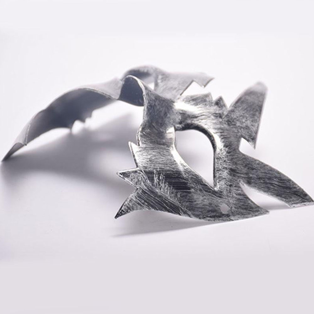 520C-Maple-Leaf-Masks-Stage-Performance-Halloween-Party-Supplies-Gold-Silver