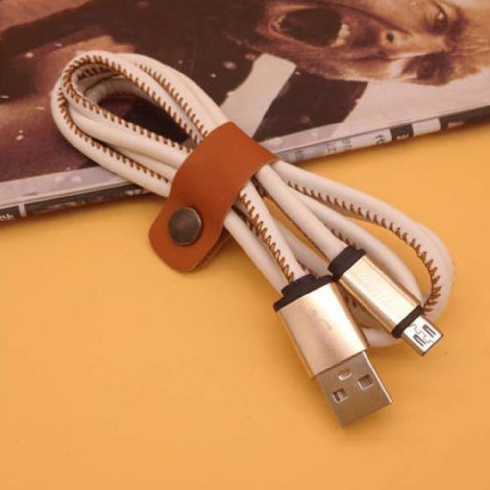 DF36-Leather-USB-Lightning-Data-Charger-Cable-Connector-Lead-For-Micro-5-Plus