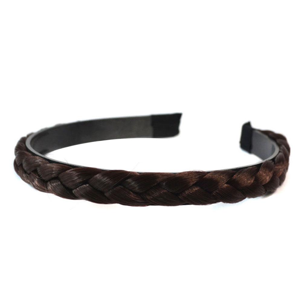 B341-Women-039-s-Wedding-Plaited-Hairband-Plaited-Braided-Hair-Accessories-Gift-New