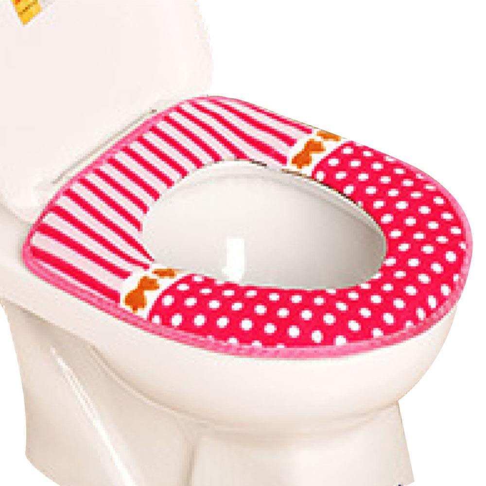 0D2E-Cover-Toilet-Seat-Mat-Cute-NEW-Plush-Thick-Bathroom-Decor