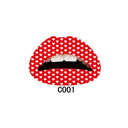 75B1-Women-Lip-Tattoo-Sticker-Temporary-Stickers-Transfers-Party-Dress-Beauty