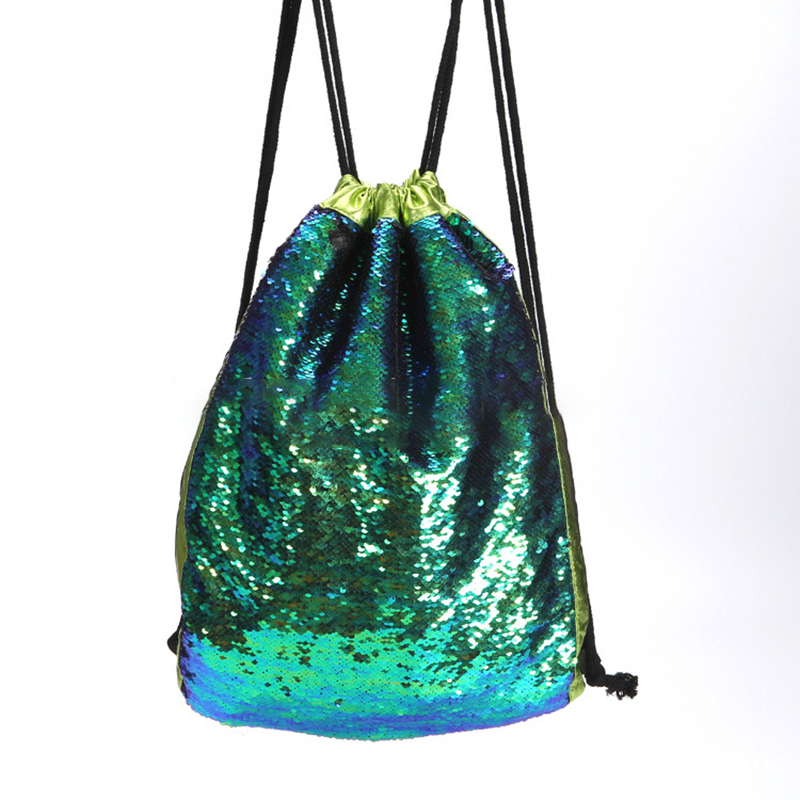B530-Women-Girl-Lady-Sequins-Drawstring-Backpack-Fashion-Travel-Shoulder-Bags