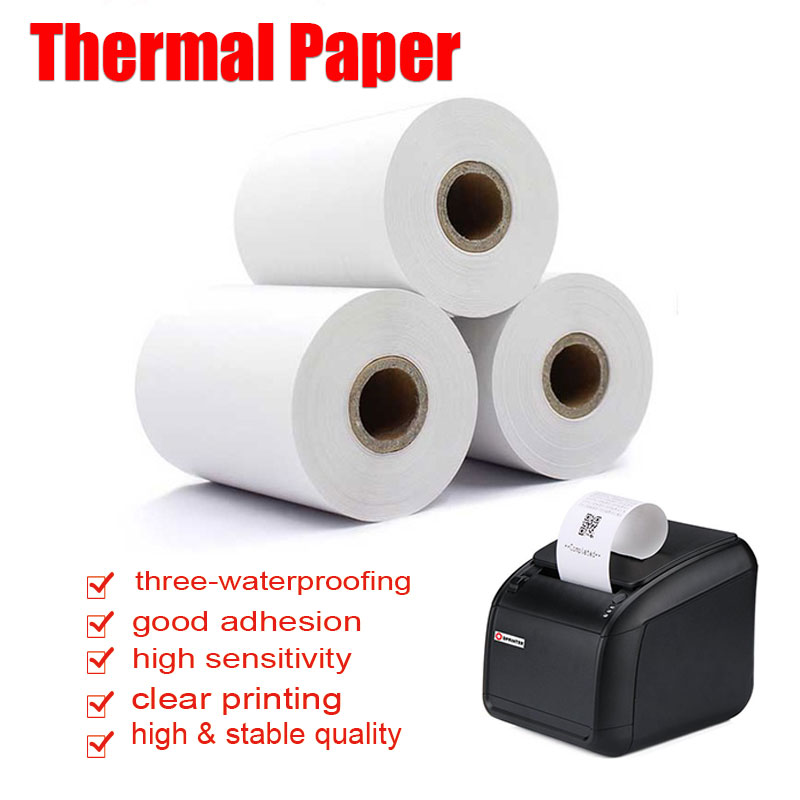 Stick-On-Self-Adhesive-Tips-Printer-Paper-Label-School-Office-Accessories-D122