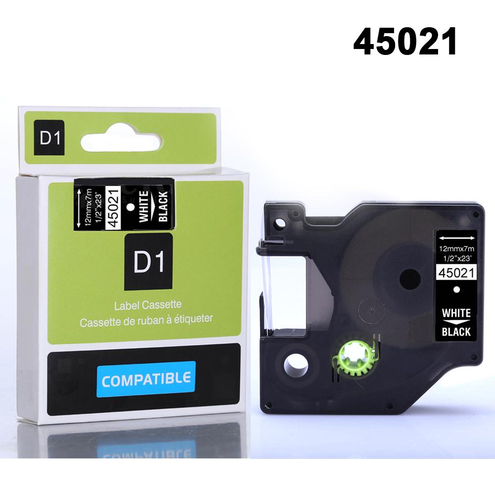 D68D-A45013-12mm-X-8m-Sticker-Tape-Home-Cartridge-Cassette-Marker-for-DYMO-D1