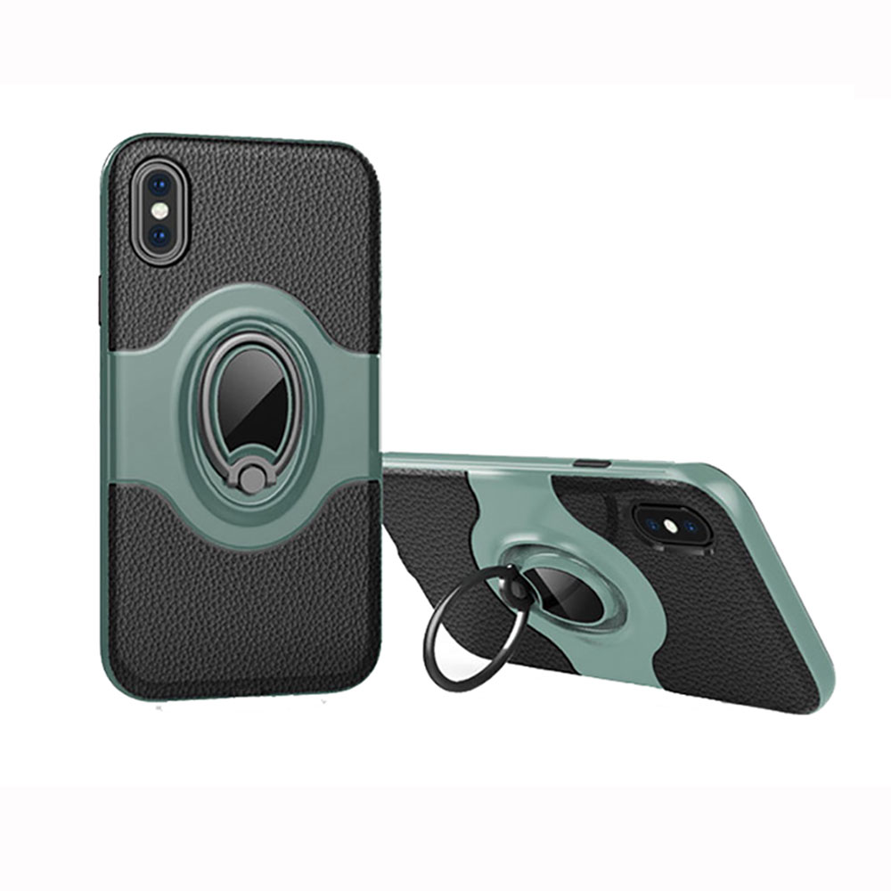 2CE6-For-iPhone-X-8-7-6-6S-Magnetic-Shockproof-Case-Cover-with-Ring-Car-Holder